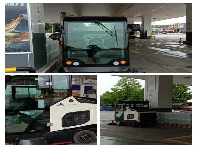 广东惠州加油站驾驶式扫地车